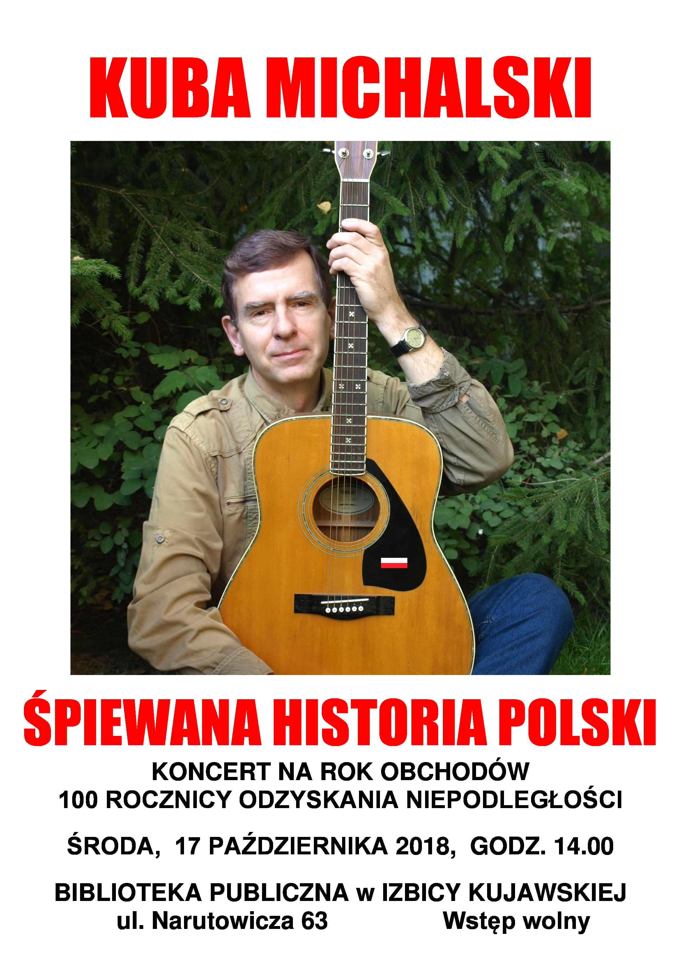 Plakat-A3-KUBA-MICHALSKI-Izbica-Kujawska